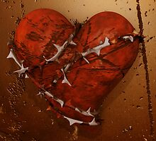 Love Hurts - Heart and Thorns by Liam Liberty