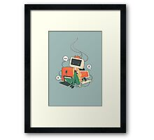 Cyber Kid Framed Print