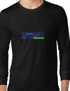 Who Wants to be a Millionaire - Battlestar Galactica Long Sleeve T-Shirt