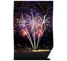 New Years Eve 2013 - Hobart Fireworks (2) Poster