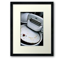 Laundry Day - 50 Years Ago! Framed Print