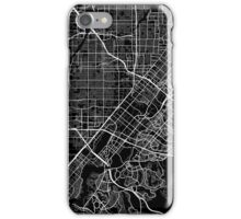 Santa Ana map California iPhone Case/Skin