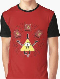 Bill Cipher | Gravity Falls Graphic T-Shirt