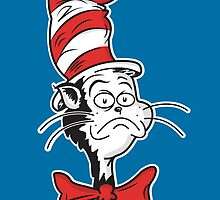 The Grumpy Cat in the Hat by Haragos