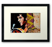 The King & Queen  Framed Print