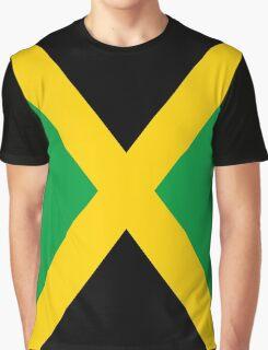 Jamaica Flag Graphic T-Shirt