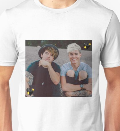 Kian and Jc Black Hearts Unisex T-Shirt