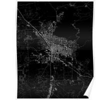 Tucson map Arizona Poster