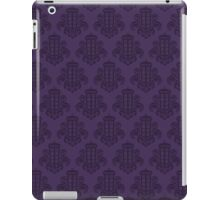 Tardis Damask - Purple iPad Case/Skin