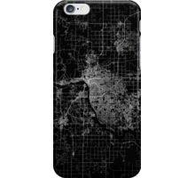 Tulsa map Oklahoma iPhone Case/Skin