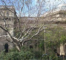 State Library of Victoria, front by margc