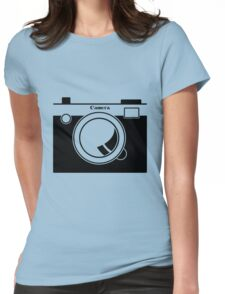 Camera - Because Cameras are Cool Womens Fitted T-Shirt