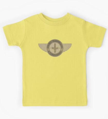 Serenity Transportation & Courier Service Kids Tee
