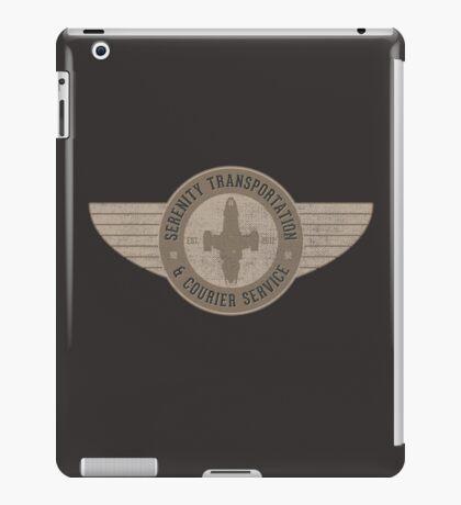 Serenity Transportation & Courier Service iPad Case/Skin