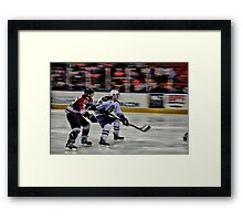 On My Tail Framed Print