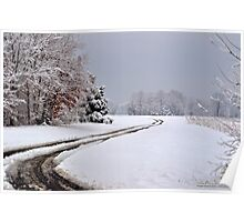 Southern Illinois Winter Scene 6_ Dec 2012 Poster