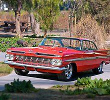 1959 Chevolet Impala by DaveKoontz