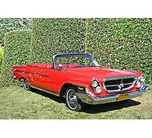 1962 Chrysler 300H Photographic Print
