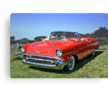 1957 Chevrolet Bel Air Convertible II Canvas Print