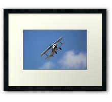 Soaring Biplane Framed Print