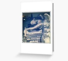 Angel and the Phone Box Greeting Card