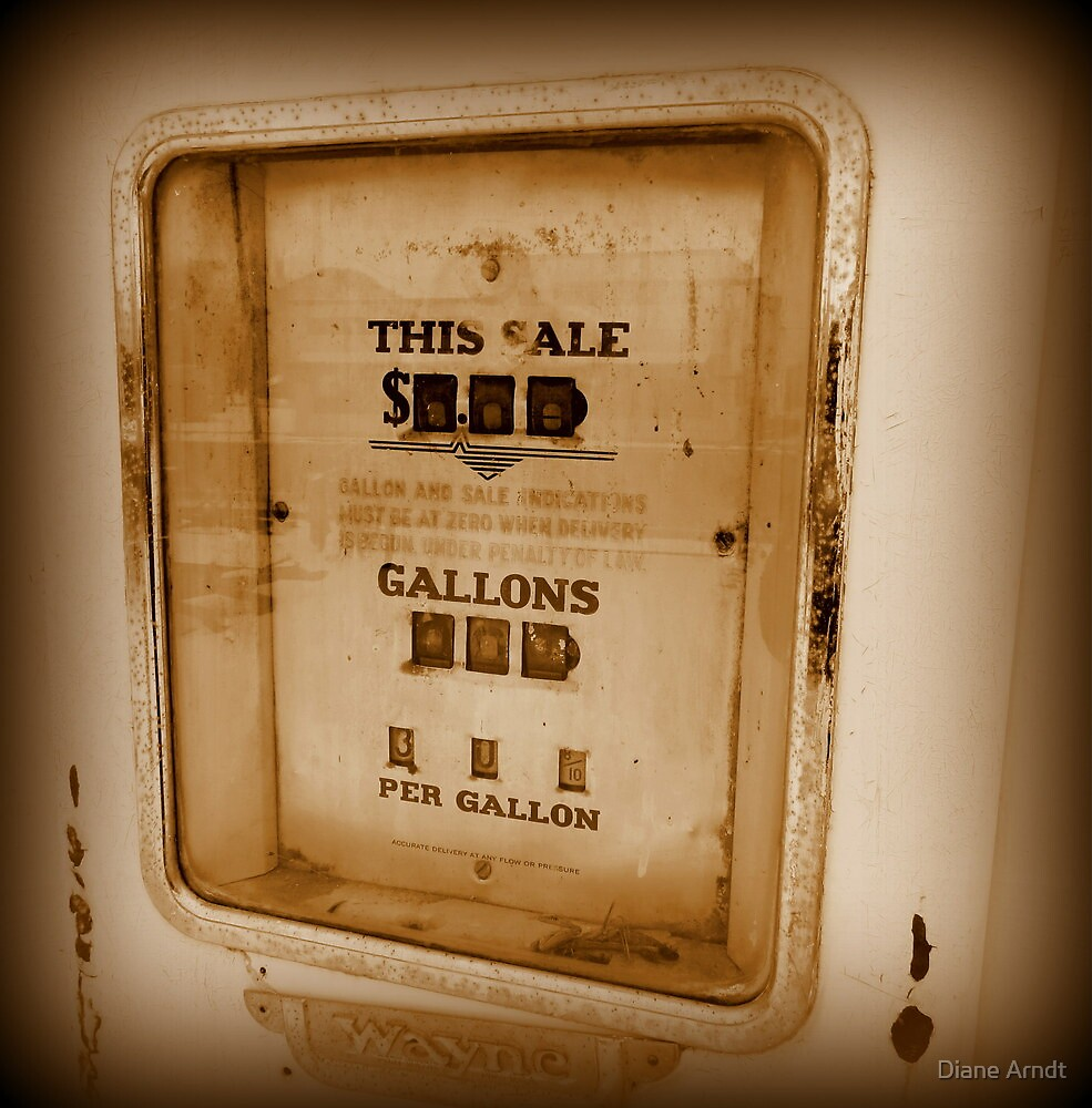 30 Cents Per Gallon by Diane Arndt