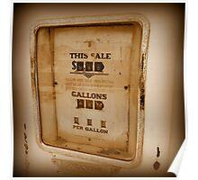 30 Cents Per Gallon Poster