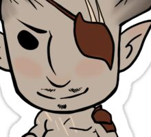 Chibi Iron bull Sticker