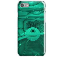 Eye Robot - Futuristic Corridor iPhone Case/Skin