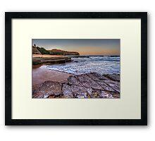Turimetta NYE Sunset Framed Print