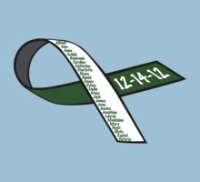 Sandy Hook Victims Names Ribbon Shirt / Hoodie Baby Tee