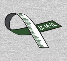 Sandy Hook Victims Names Ribbon Shirt / Hoodie T-Shirt