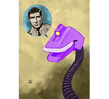 Richard Basehart! Photographic Print