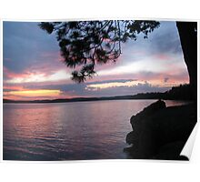 Sunset Dreams at  Lake CatchaComa 3-Available As Art Prints-Mugs,Cases,Duvets,T Shirts,Stickers,etc Poster