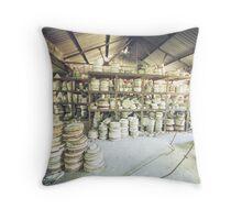 Potteries Throw Pillow