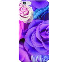 Colorful Roses Pattern iPhone Case/Skin