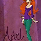 DisneyBound Ariel  by Chantelle Janse van Rensburg