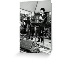 concert Greeting Card