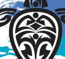 Tribal Turtle Maui Sticker