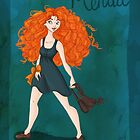 DisneyBound Merida  by Chantelle Janse van Rensburg