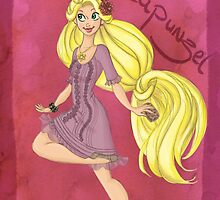 DisneyBound Rapunzel by Chantelle Janse van Rensburg
