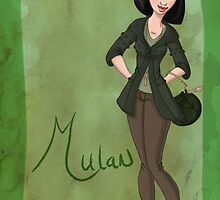 DisneyBound Mulan by Chantelle Janse van Rensburg