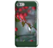 Berry Merry Christmas iPhone Case/Skin