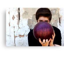 Bowling ball Canvas Print