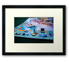 Monopoly At It's Finest Framed Print