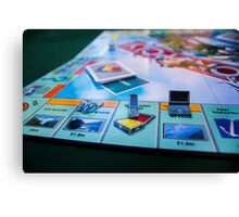 Monopoly At It's Finest Canvas Print