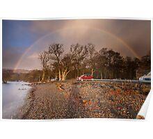 Sunlight+Rain=Rainbow Poster