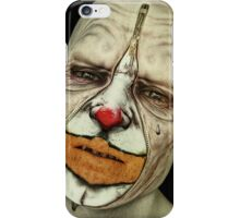 Behind The Mask - The Tears of a Clown iPhone Case/Skin