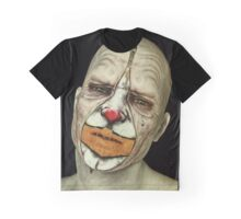 Behind The Mask - The Tears of a Clown Graphic T-Shirt