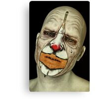 Behind The Mask - The Tears of a Clown Canvas Print